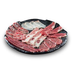 【生牛肉拼盤】給餐館做餐牌時極便利的好用素材