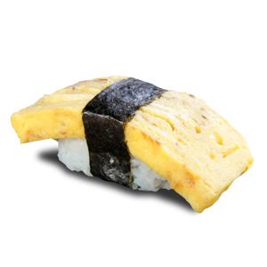紫菜玉子燒壽司的去背退地食物素材相片