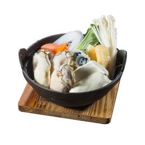 廣島蠔湯鍋的去背退地食物素材相片