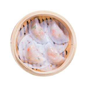 蝦餃的去背退地食物素材相片