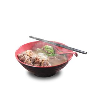 牛肉牛腩牛舌湯河粉加腩汁的去背退地食物素材相片