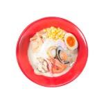 蝦貽貝扇貝海鮮拉麵的去背退地食物素材相片
