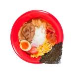 日式叉燒蕃茄湯拉麵的去背退地食物素材相片
