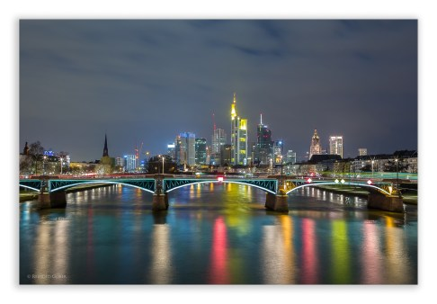 Frankfurt Skyline |© Reinold Gober