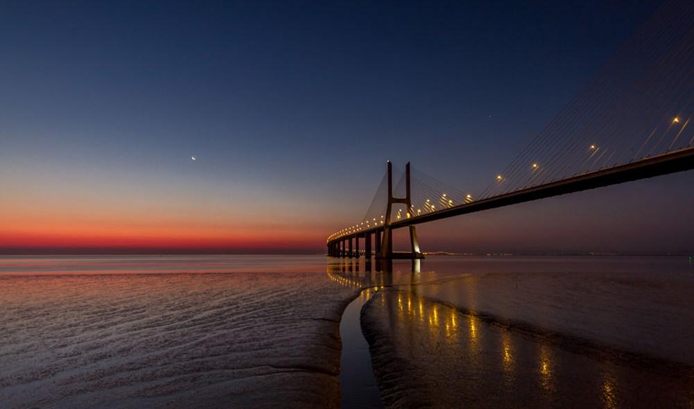 Sonnenaufgang Vasco da Gama | © Pari Comninos