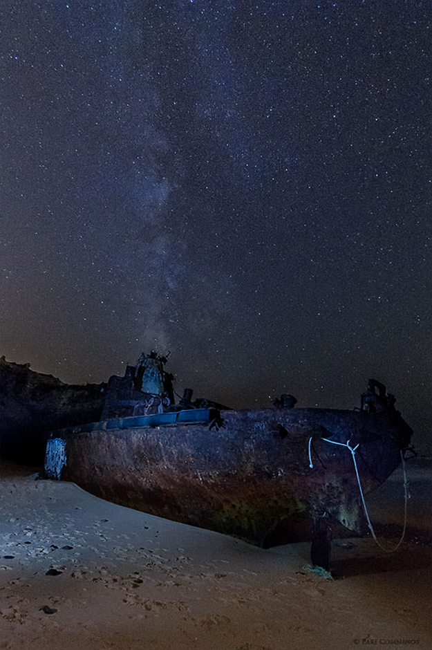 The Wreck | © Pari Comninos