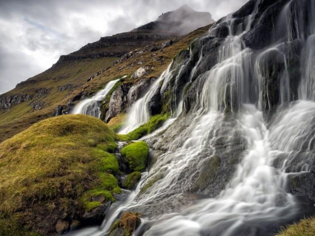 [ t r o l l ] © Serdar Ugurlu 2015 | Waterfall near Funningur 2015 | Faroe Islands