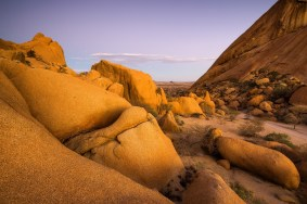 Spitzkoppe Ocker Sunset © Raik Krotofil