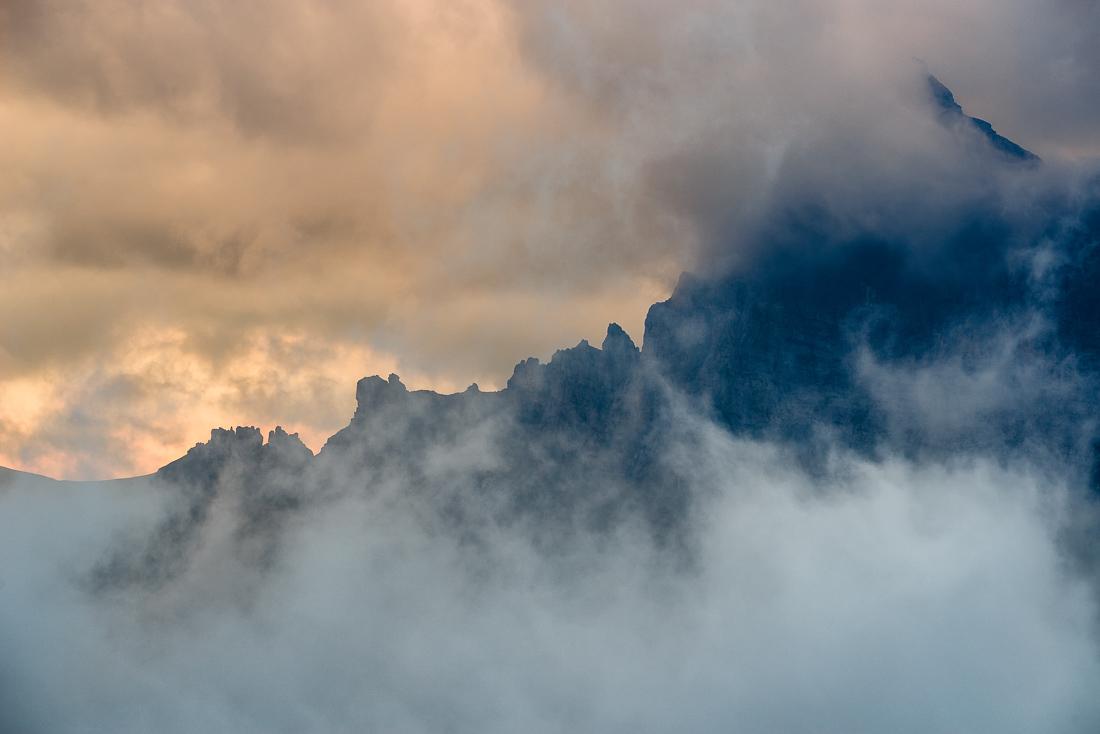 Tiefe Wolken am Sustenpass Fotoworkshop