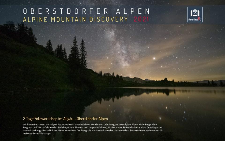 Fotoworkshop Oberstdorf Allgäu Alpen Deutschland 2021