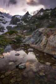 Fotografieren in den Bergen Sustenpass Steingletscher © Raik Krotofil