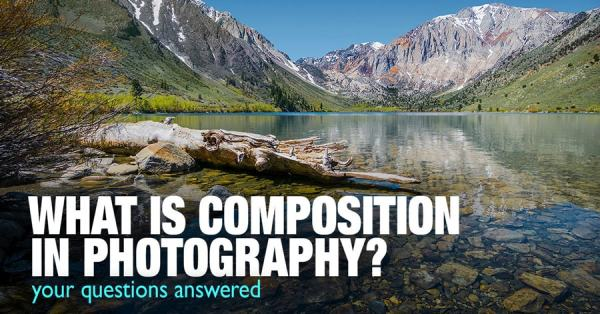 What is the definition of composition in photography?