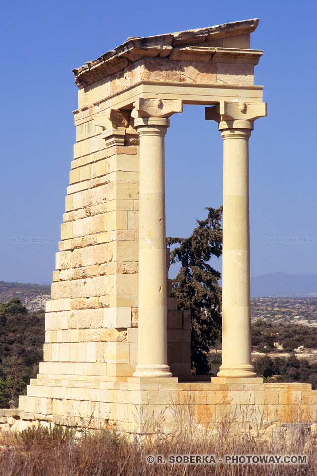 Chypre, sanctuaire d'Apollon Leukatès.