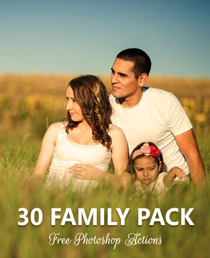 30 Free PS Actions for Family Portraits