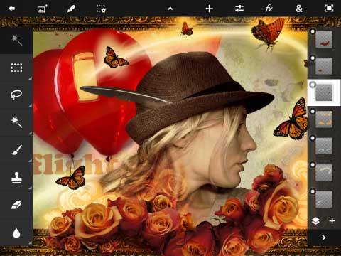 Adobe Photoshop Touch - Creativity