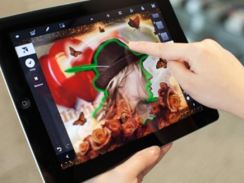 Adobe Photoshop Touch - Scribble