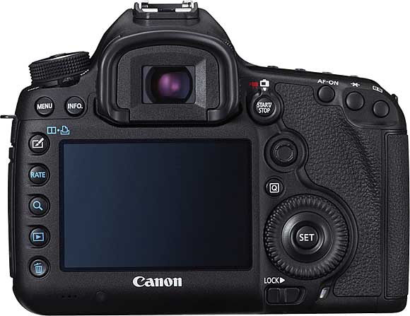 Canon EOS 5D Mark III Back View