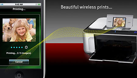 Canon Easy-PhotoPrint App for Apple iPhone