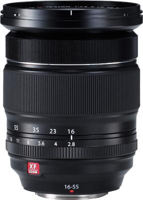 FUJINON XF16-55mmF2.8 R LM WR lens