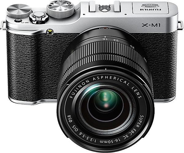 Fujifilm X-M1 with XC16-50mm F3.5-5.6 OIS