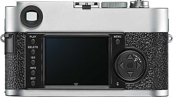 Leica M9-P Back View