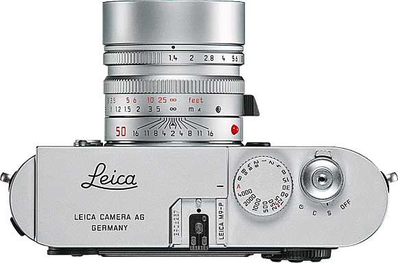 Leica M9-P Top View