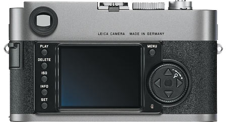 Leica M9 Back View