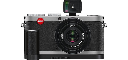 Leica X1 with optional Viewfinder and Grip