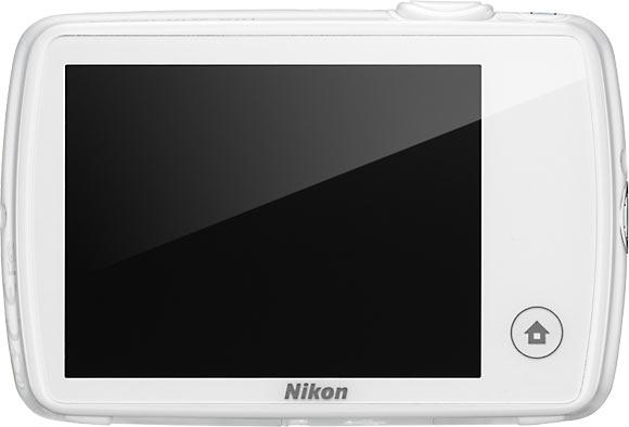 Nikon COOLPIX S01 Back View