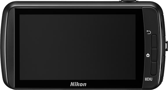 Nikon COOLPIX S800C Back View