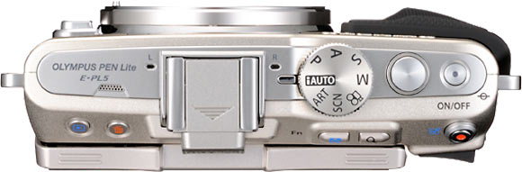 Olympus E-PL5 Top View