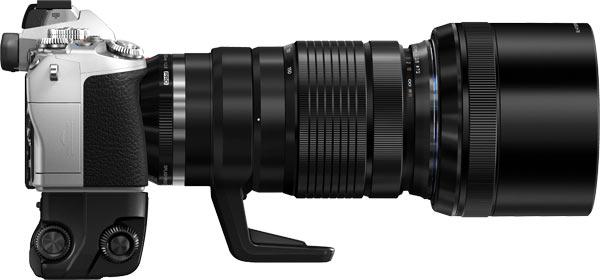 Olympus E -M1 with M.ZUIKO DIGITAL ED 40-150mm f2.8 PRO lens, MC-14 Teleconverter, Lens Hood LH-76 and HLD-7 Power Battery Holder