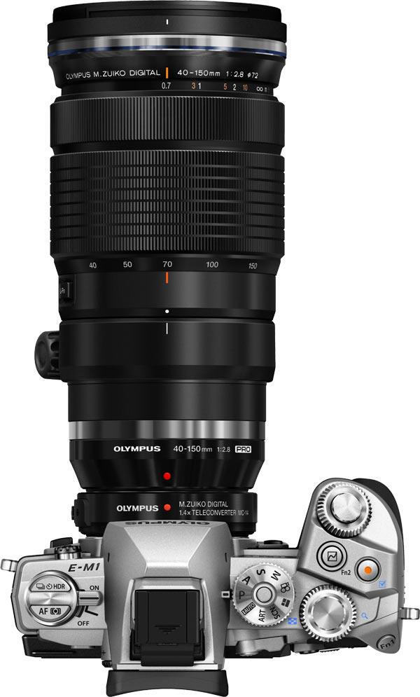 Olympus E -M1 with M.ZUIKO DIGITAL ED 40-150mm f2.8 PRO lens and MC-14 Teleconverter
