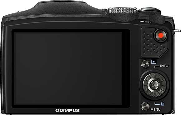 Olympus SZ-31MR Back View