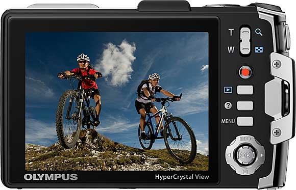 Olympus TG-810 Back View