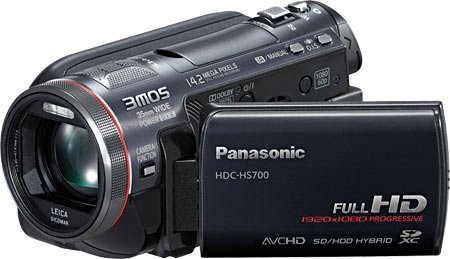 Panasonic HDC-HS700 3MOS Camcorder