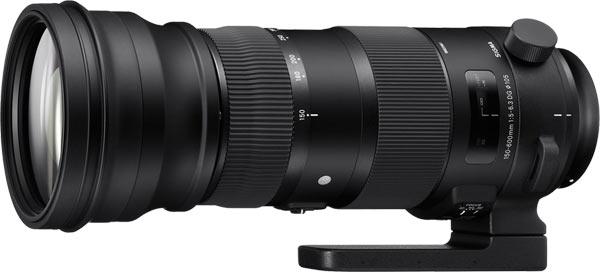 Sigma 150-600mm F5-6.3 DG OS HSM Sport Zoom