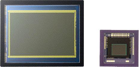 Sony Handycam NEX-VG10 Sensor vs. standard camcorder sensor