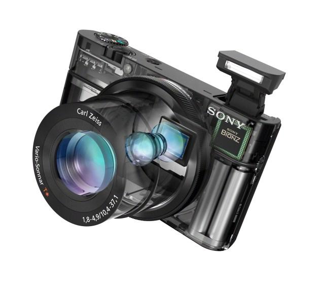 Sony Cyber-shot®DSC-RX100 (transparent view)
