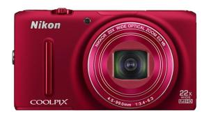 Nikon S9500 red front-900-75