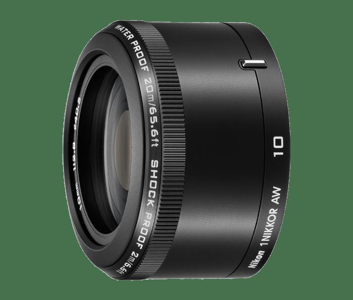 1 NIKKOR AW 10mm f/2.8 lens