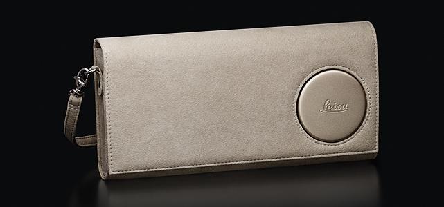Leica C-Clutch: Clutch bag, light gold.