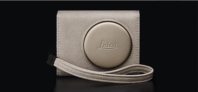 Leica C-Twist: Wrap-around case, light-gold.