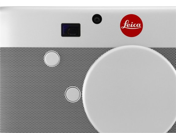 Leica Digital Rangefinder Camera is presented with a perfectly textured anodized aluminum outer shell.