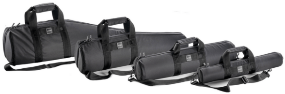 Gitzo Tripod Bags (left to right): GC5101, GC4101, GC3101, and GC1101.