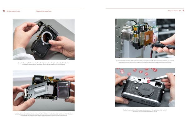 LFI. 100 Years of Leica. Chapter 1 the brand core, Page 8-9