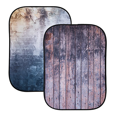 Lastolite's new textures to the Urban Backgrounds: Distressed Wall / Fence