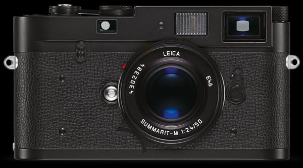 Leica M-A in black chrome finish