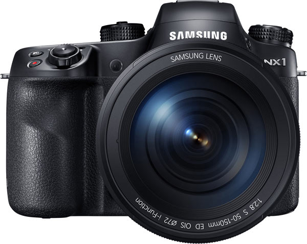 NX1 SMART Camera with 50-150mm F2.8 S OIS lens