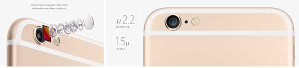 All-new sensor supports Focus Pixels and enables even faster autofocus. Aperture: ƒ/ 2.2 and Pixels: 1.5µ.